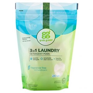 Grab Green Natural 3-in-1 Laundry Detergent Pods
