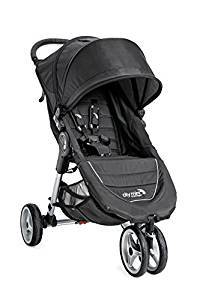 Baby Jogger 2016 City Mini 3W Single Stroller- Black,grey