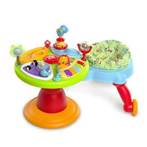 Bright Starts Around We Go 3-in-1 Activity Center Zippity Zoo reviews