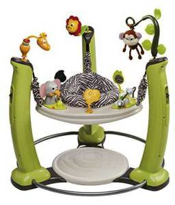 Evenflo ExerSaucer Jungle Quest themed Jump and Learn Jumper reviews