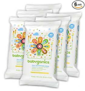 Babyganics Face, Hand & Baby Wipes reviews