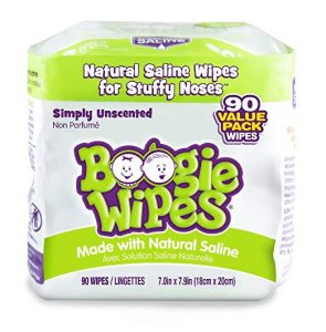 Boogie Wipes Soft Natural Saline Wet Tissues