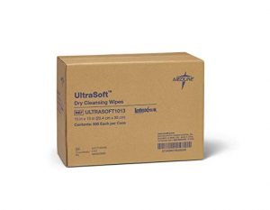 Medline Ultrasoft Disposable Dry Cleansing Cloth Wipe reviews