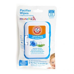 Munchkin 36 Pack Arm and Hammer Pacifier Wipes reviews
