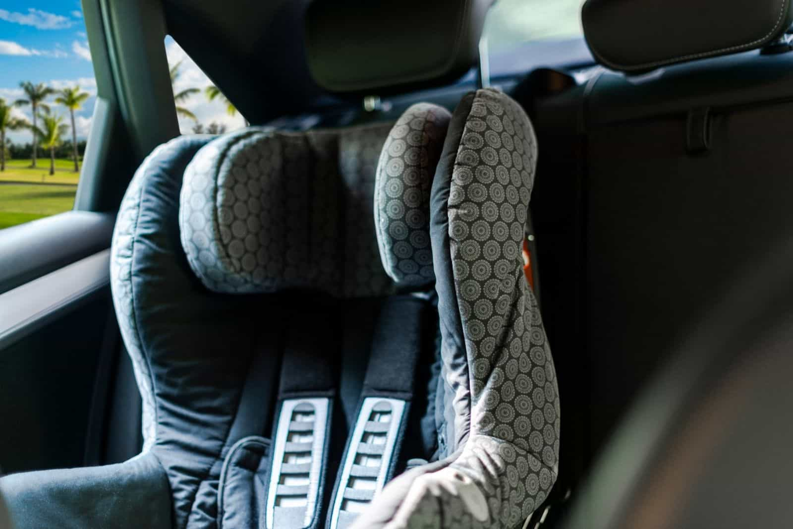 Travel with car seat is must when an infant is on board